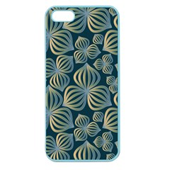 Gradient Flowers Abstract Background Apple Seamless iPhone 5 Case (Color)