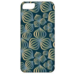 Gradient Flowers Abstract Background Apple iPhone 5 Classic Hardshell Case