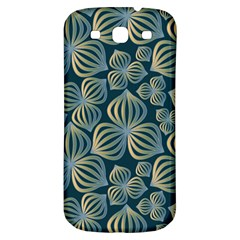 Gradient Flowers Abstract Background Samsung Galaxy S3 S Iii Classic Hardshell Back Case