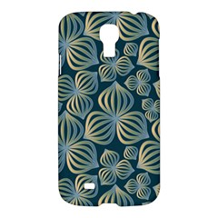 Gradient Flowers Abstract Background Samsung Galaxy S4 I9500/I9505 Hardshell Case