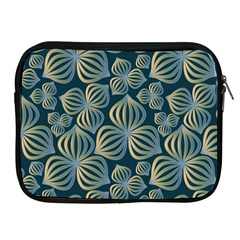 Gradient Flowers Abstract Background Apple iPad 2/3/4 Zipper Cases