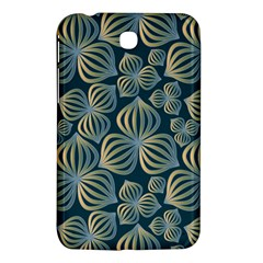 Gradient Flowers Abstract Background Samsung Galaxy Tab 3 (7 ) P3200 Hardshell Case
