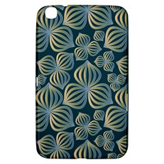 Gradient Flowers Abstract Background Samsung Galaxy Tab 3 (8 ) T3100 Hardshell Case