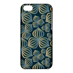 Gradient Flowers Abstract Background Apple Iphone 5c Hardshell Case