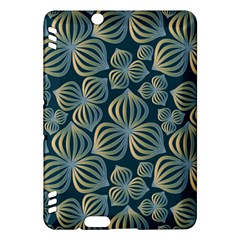 Gradient Flowers Abstract Background Kindle Fire Hdx Hardshell Case