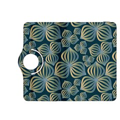 Gradient Flowers Abstract Background Kindle Fire HDX 8.9  Flip 360 Case