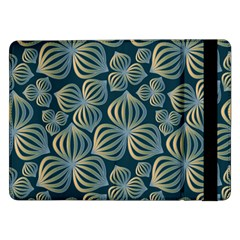 Gradient Flowers Abstract Background Samsung Galaxy Tab Pro 12.2  Flip Case