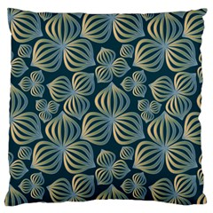 Gradient Flowers Abstract Background Standard Flano Cushion Case (One Side)