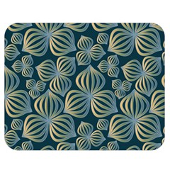 Gradient Flowers Abstract Background Double Sided Flano Blanket (medium)