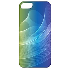 Colorful Guilloche Spiral Pattern Background Apple iPhone 5 Classic Hardshell Case