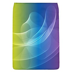 Colorful Guilloche Spiral Pattern Background Flap Covers (l)