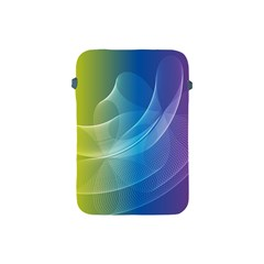 Colorful Guilloche Spiral Pattern Background Apple Ipad Mini Protective Soft Cases