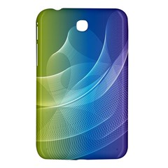 Colorful Guilloche Spiral Pattern Background Samsung Galaxy Tab 3 (7 ) P3200 Hardshell Case