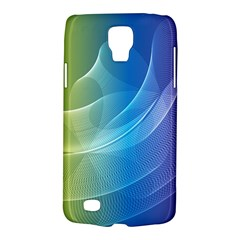 Colorful Guilloche Spiral Pattern Background Galaxy S4 Active