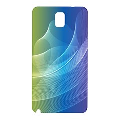 Colorful Guilloche Spiral Pattern Background Samsung Galaxy Note 3 N9005 Hardshell Back Case