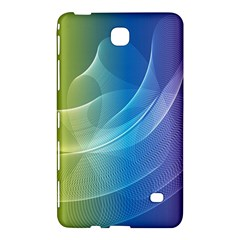 Colorful Guilloche Spiral Pattern Background Samsung Galaxy Tab 4 (7 ) Hardshell Case