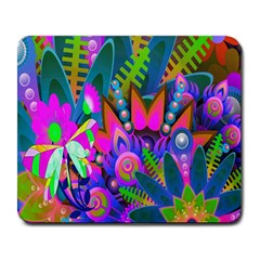 Wild Abstract Design Large Mousepads