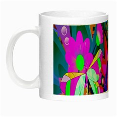 Wild Abstract Design Night Luminous Mugs
