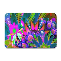 Wild Abstract Design Small Doormat