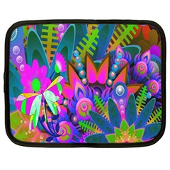 Wild Abstract Design Netbook Case (large)