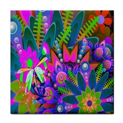 Wild Abstract Design Face Towel
