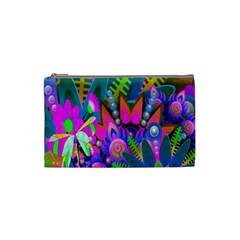 Wild Abstract Design Cosmetic Bag (small)