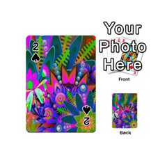 Wild Abstract Design Playing Cards 54 (Mini)