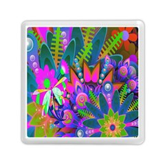 Wild Abstract Design Memory Card Reader (square)