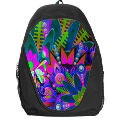Wild Abstract Design Backpack Bag