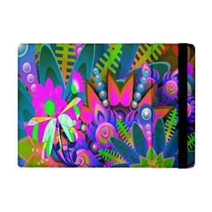 Wild Abstract Design Apple iPad Mini Flip Case
