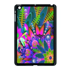 Wild Abstract Design Apple Ipad Mini Case (black)