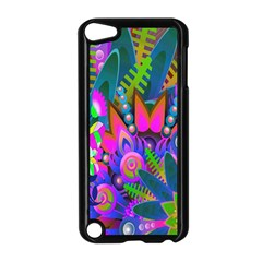 Wild Abstract Design Apple iPod Touch 5 Case (Black)