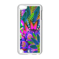 Wild Abstract Design Apple iPod Touch 5 Case (White)
