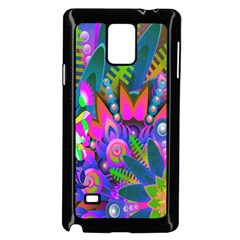 Wild Abstract Design Samsung Galaxy Note 4 Case (black)