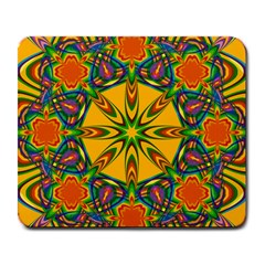Seamless Orange Abstract Wallpaper Pattern Tile Background Large Mousepads