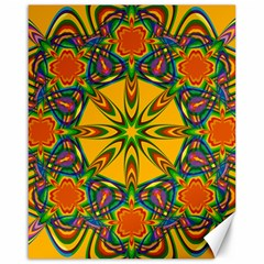 Seamless Orange Abstract Wallpaper Pattern Tile Background Canvas 16  x 20