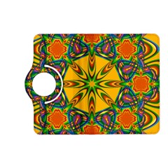 Seamless Orange Abstract Wallpaper Pattern Tile Background Kindle Fire HD (2013) Flip 360 Case