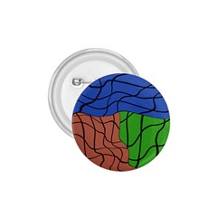 Abstract Art Mixed Colors 1.75  Buttons