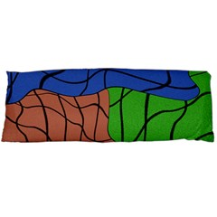 Abstract Art Mixed Colors Body Pillow Case Dakimakura (two Sides)
