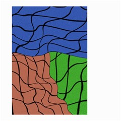 Abstract Art Mixed Colors Small Garden Flag (Two Sides)