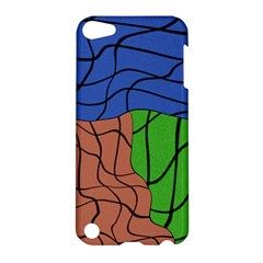 Abstract Art Mixed Colors Apple iPod Touch 5 Hardshell Case