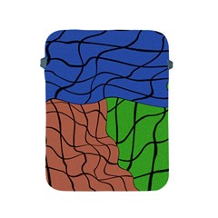 Abstract Art Mixed Colors Apple iPad 2/3/4 Protective Soft Cases