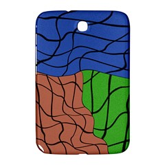 Abstract Art Mixed Colors Samsung Galaxy Note 8 0 N5100 Hardshell Case