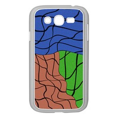 Abstract Art Mixed Colors Samsung Galaxy Grand DUOS I9082 Case (White)