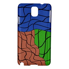 Abstract Art Mixed Colors Samsung Galaxy Note 3 N9005 Hardshell Case