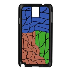 Abstract Art Mixed Colors Samsung Galaxy Note 3 N9005 Case (black)