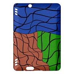 Abstract Art Mixed Colors Kindle Fire Hdx Hardshell Case