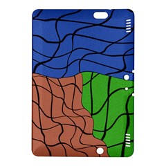 Abstract Art Mixed Colors Kindle Fire HDX 8.9  Hardshell Case