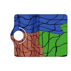 Abstract Art Mixed Colors Kindle Fire HD (2013) Flip 360 Case