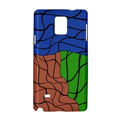 Abstract Art Mixed Colors Samsung Galaxy Note 4 Hardshell Case